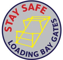 Stay Safe loading bay gate from National Tube Straightening Service